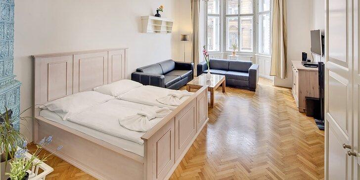 Pobyt v centre Prahy: apartmány pri Staromestskom námestí až pre 6 osôb