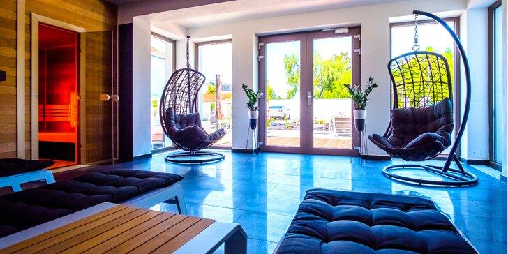 Oddych s privátnym wellness v modernom prostredí penziónu Villa La Via***