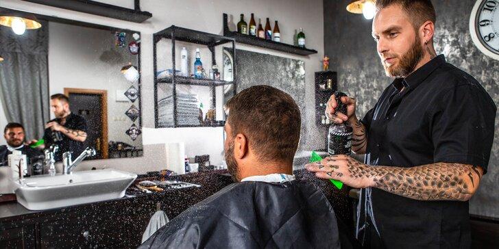 Profesionálny pánsky strih a úprava brady v Baron´s Barbery