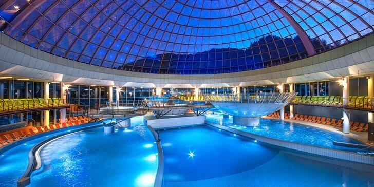 Wellness pobyt v Slovinsku: hotel v krásnej prírode, polpenzia a luxusný bazénový komplex