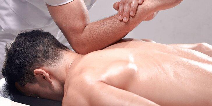 Nechajte si poradiť: diagnostika stavu chrbtice + masáž na mieru