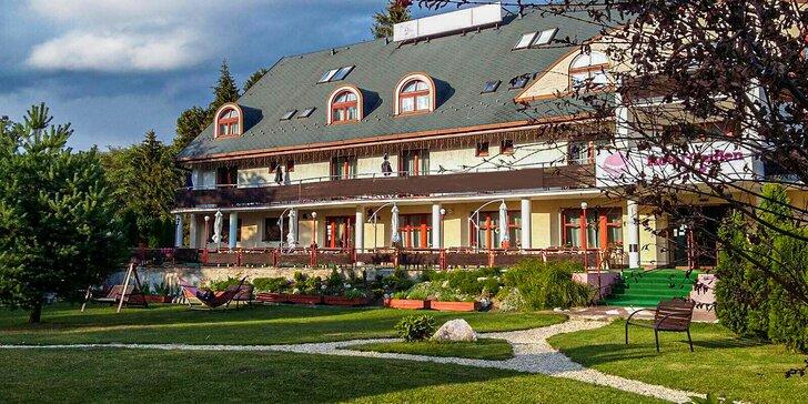 Relax s privátnym wellness v panenskej prírode Volovských vrchov