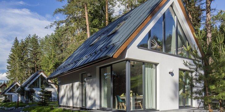 Jeseň v krásnej Demänovskej doline: luxusné chaty pre 6 osôb
