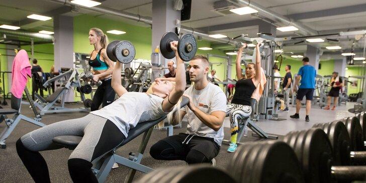5 vstupov do fitness centra pre nových členov + tréning s osobným trénerom ZADARMO