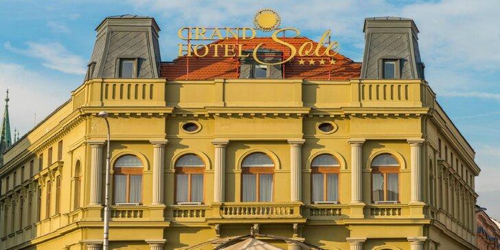 Wellness pobyt v Grand Hoteli Sole**** v centre Nitry