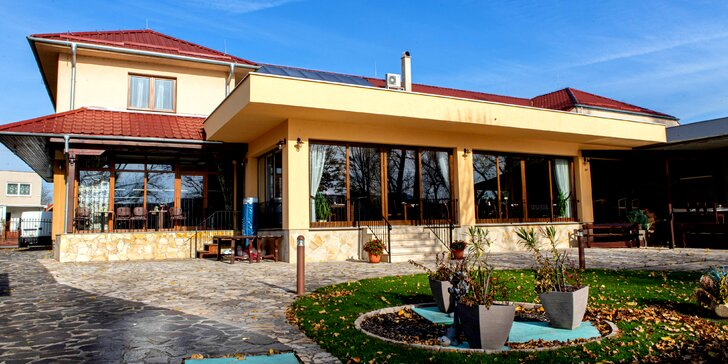 Wellness pobyt v penzióne Mlyn - chutná polpenzia a komfortné ubytovanie pri brehu Dunaja