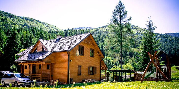 Zážitkové ubytovanie na Liptove - chaty WILI HUNTER v tichej prírode