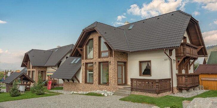 Apartmánový dom v podhorskej obci Pavčina Lehota pre 2-5 osôb