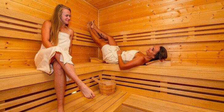 Skvelý relax a imunita s 3 vstupmi do sáun pre 1 alebo 2 osoby