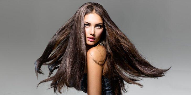 Klasické farbenie vlasov luxusnou talianskou kozmetikou Helen Seward Milano