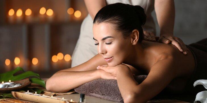Doprajte si blahodarný relax s 5 druhmi masáží