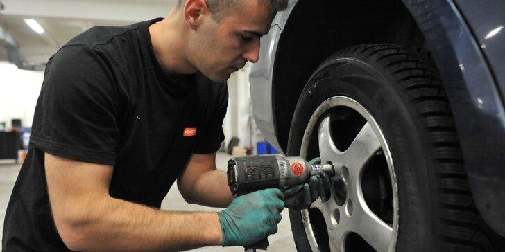 Kompletný pneuservis: výmena kolies, prezutie či kontrola auta