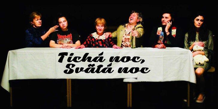 Predstavenie autorskej komédie TICHÁ NOC, SVÄTÁ NOC - 8. 1. 2021
