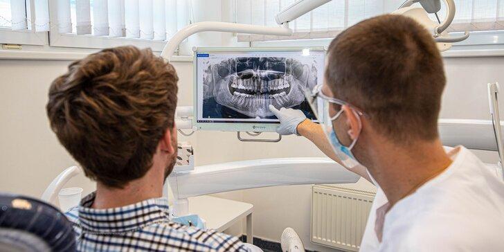 Dentálna hygiena alebo implantologická konzultácia + CT vyšetrenie