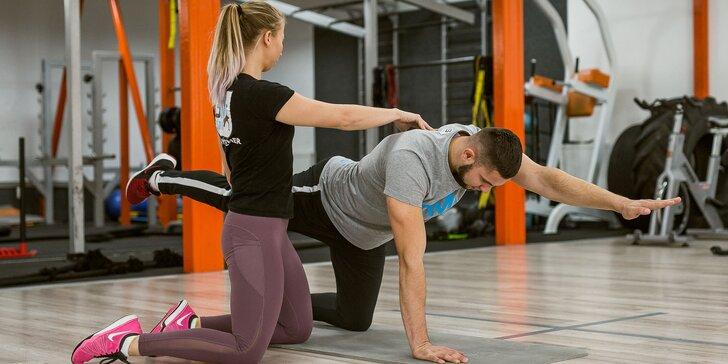 Zacvič si s osobným trénerom alebo vezmi aj parťáka do fitness centra Olymp