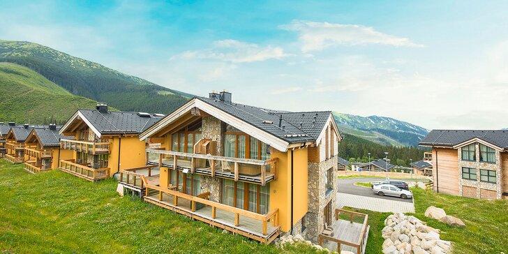 Dovolenka v horských Chaletoch v Jasnej v luxusných apartmánoch aj s vlastnou saunou a výhľadom na hrebene Nízkych Tatier