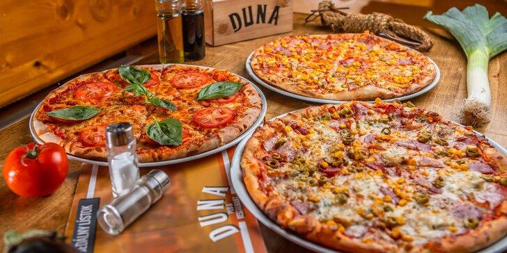Tretia pizza v Duna Pub & Restaurant iba za 1 €!