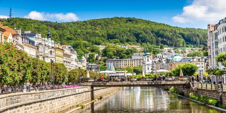 Wellness pobyt s polpenziou: 4* hotel v Karlových Varoch