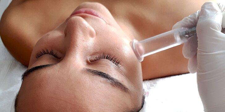 Hydratačné ošetrenie pleti alebo hĺbkové čistenie