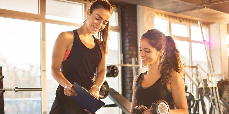 Tréning či permanentka na cvičenie s osobnou trénerkou pre ženy