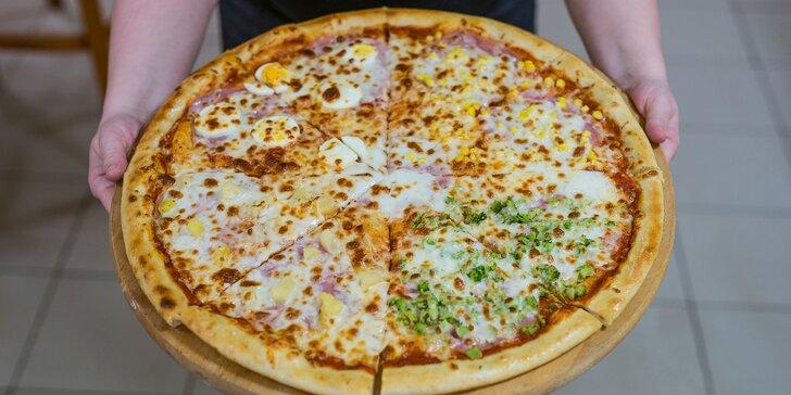 Mega veľká pizza pre najväčších hladošov!