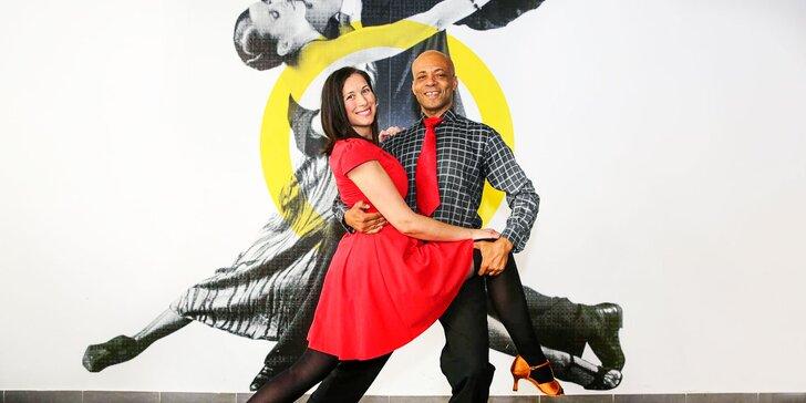 Tanečné lekcie s Petrom Ingrišom až pre 4 osoby