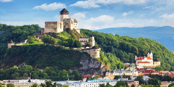 Romantický pobyt iba 700 m od Trenčianskeho hradu v Penzióne Exclusive