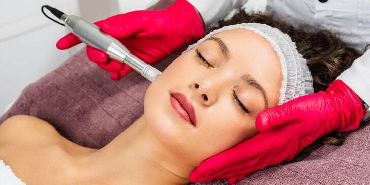 Profesionálne kozmetické ošetrenia pre mladú, zrelú, alebo problematickú pleť