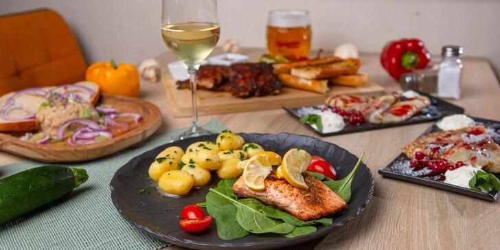 3-chodové menu pre 2 osoby vo Wimbledon Restaurant & Bar na osobný odber či donášku