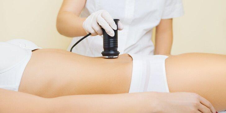 Kavitácia, lymfodrenáž, zábal alebo anticelulitídna masáž