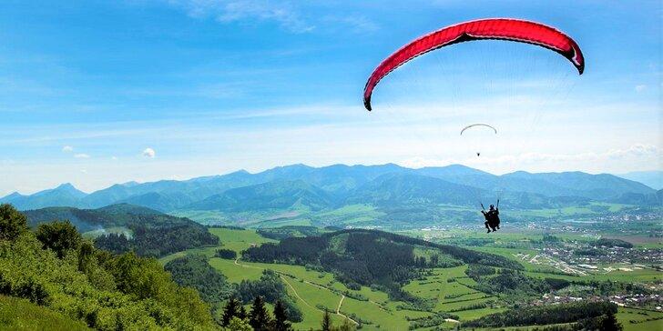 Tandemový let alebo tandemový termický let na padáku