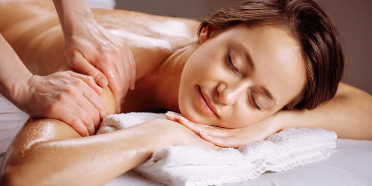 Odborná masáž celého tela či masáž tváre argánovým olejom