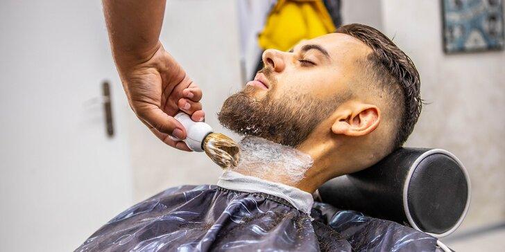 Profesionálny pánsky strih a úprava brady vo FATHER BARBER SHOP