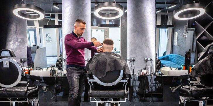 Profesionálny strih detí, pánov a úprava brady v Balkan Barbershop