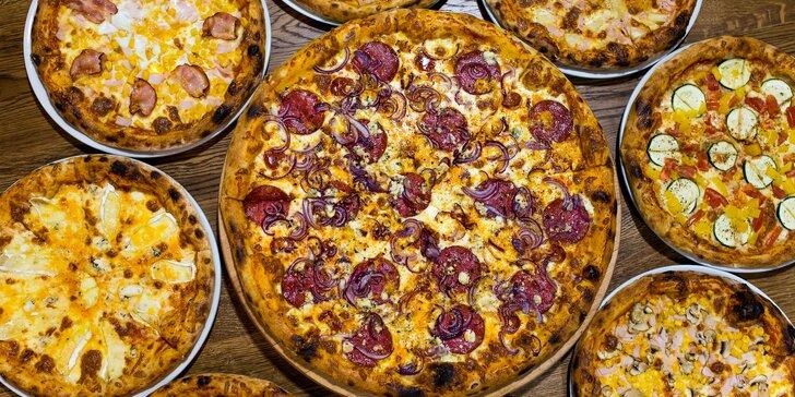 Pizza podľa vlastného výberu z reštaurácie STEAM FACTORY