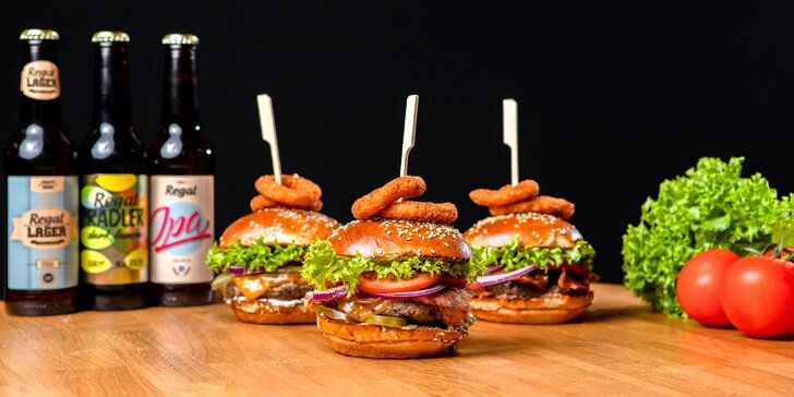 Regal Burger aj teraz! Osobný odber možný vo všetkých otvorených prevádzkach v Bratislave!