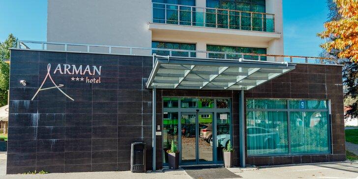 Pobyt na Orave v Hoteli Arman***+ s neobmedzeným wellness, fitness a športovými aktivitami