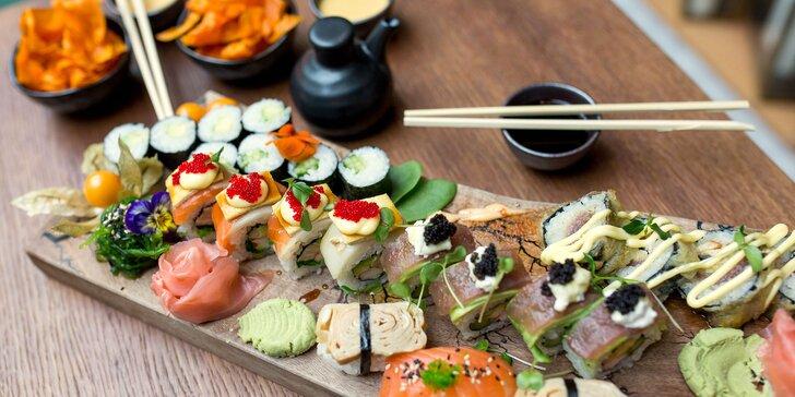 Sushi set pre 2 osoby z LOBBY – iba rozvoz v rámci Košíc