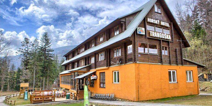Pobyt s raňajkami v horskej chate Trangoška