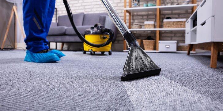 Tepovanie kobercov, matracov, nábytku či dezinfekcia interiéru ozónom