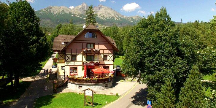 Čarovný pobyt v srdci Tatranskej Lomnice v Penzióne VILA PARK***