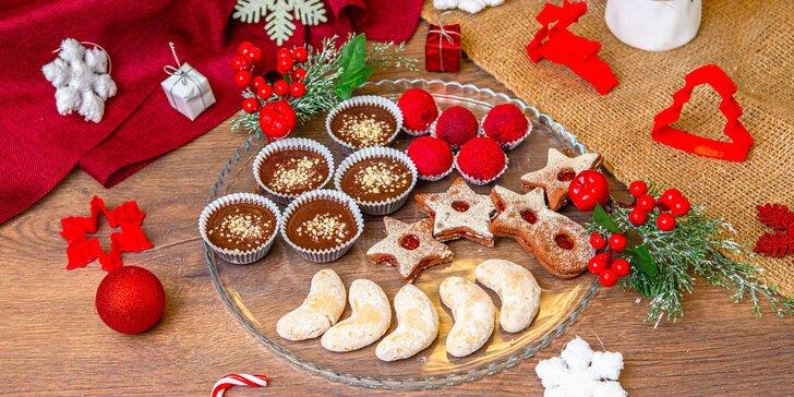 Zdravé a veselé: vianočné RAW i pečené vegánske bezlepkové koláčiky