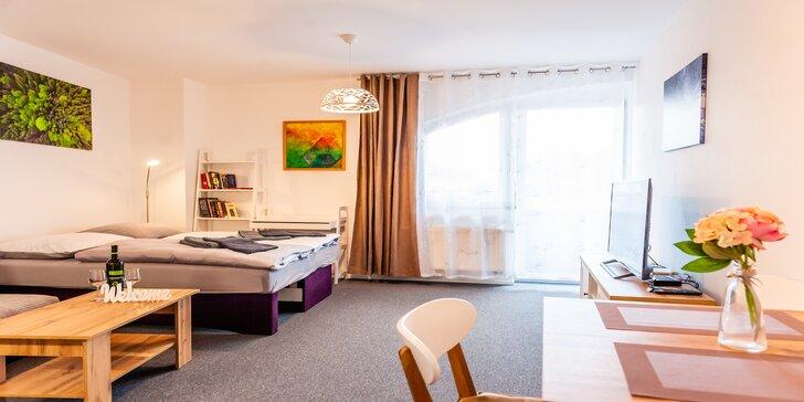 Komfortné apartmány pre 2-3 osoby v blízkosti Thermal Parku Bešeňová