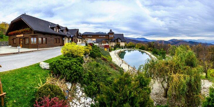 Wellness pobyt v prostredí Starohorských vrchov s panoramatickým výhľadom