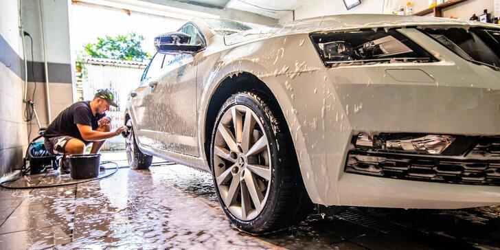 Ekologické čistenie interiéru a exteriéru auta + para/nano vosk