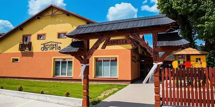 Skvelý oddych v útulnom Penzióne Daniella v Pieninách