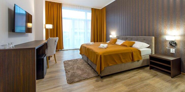 Romantický pobyt s fľašou vína a darčekom na izbe v Hoteli Black Horse Prešov ****