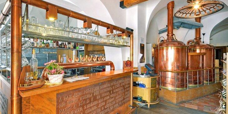 Pivné kúpele, exkurzia do pivovaru a čokoládovne spojená s dokonalým relaxom v centre mesta Kroměříž
