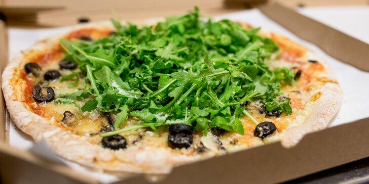Zdravá pizza podľa vlastného výberu: mäsová, vegetariánska aj vegánska