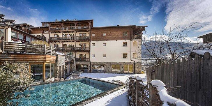 Zima pod štítmi talianskych Álp: polpenzia, neobmedzený wellness, vínny kúpeľ a fľaša sektu